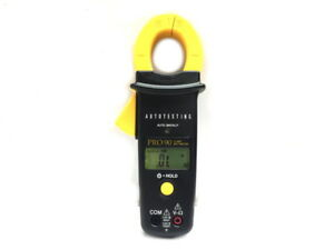 Pro 90 Autotesting Multimeter 600 Amp Clamp Meter