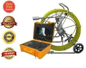 Sewer Drain Pipe System 10 Lcd 400 Ft 2 Inspection Camera Counter 512hz Sonde