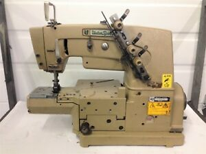 Union Special 34700 2 Needle Cylinder bed Coverstitch Industrial Sewing Machine