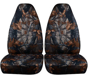 Fits 1997 To 2001 Jeep Cherokee Camouflage Seat Covers 5 Color Options