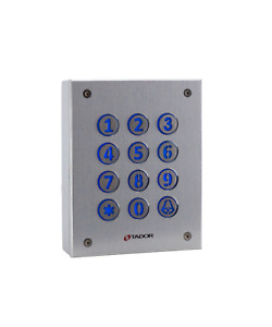 Keypad Access Control For Gates And Door Anti Vandal Illuminated