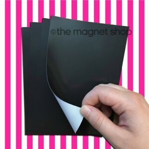 Self adhesive Magnetic Sheets 6 X 4 Inch For Photos Photographs Fridge Magnets