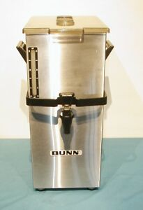 Bunn Tdk4 4 Gallon Tea Dispenser Urn Brew Thru Lid Cleaned Sanitized