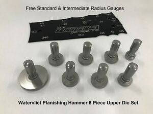 Watervliet Planishing Hammer 8 Piece Upper Die Set