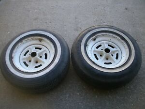 Olds 442 Buick Gran Sport 15x7 Rally Ii Wheels W7 Code