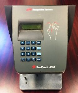 Handpunch 3000 Ir Schlage Recognition Systems Time Clock