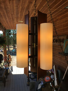 Mid Century Modern Hanging Lamp Light