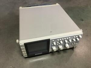 Tested Power On Only Sold As Is Kikusui Cor5541u Digital Oscilloscope No Probe