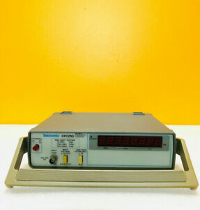 Tektronix Cfc250 5 Hz To 100 Mhz 1 Mohm Input Frequency Counter Tested