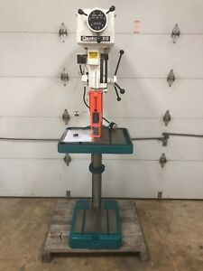 Clausing Variable Speed Drill Press 20 Swing 1 5 Hp 208 230 460v 3 Ph 2274