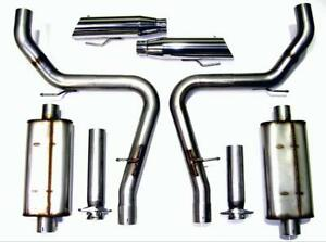 Bassani Exhaust System For Mustang Cobra