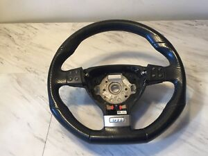 2006 2009 Vw Golf Gti Mk5 R32 Oem Leather Steering Wheel Cruise Paddle Shifter