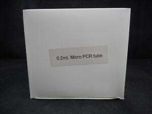 Laboratory Plastic 0 2ml Clear Micro Pcr Tubes With Attached Cap 1000 box