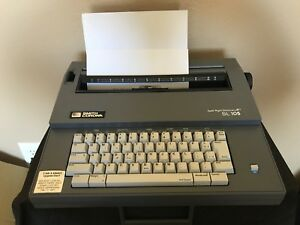 Vintage Smith Corona Spell Right Dictionary Sl 105 Electric Typewriter W Cover