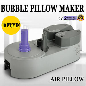 Air Pillow Cushion Bubble Wrap Maker Machine For Different Kind Of Bags Ca Ship