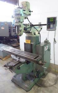 Bridgeport Vertical Milling Machine Jhead Dro 30217