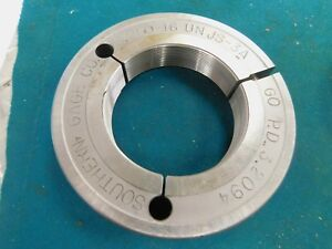 Southern Go Thread Ring Gage 3 1 4 16 Unjs 3a