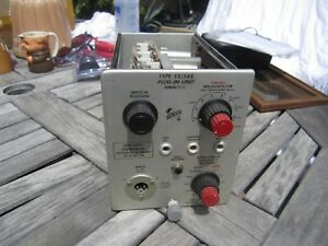 Tektronix Type 53 54e Low Level Differential Calibrated Ac Preamp