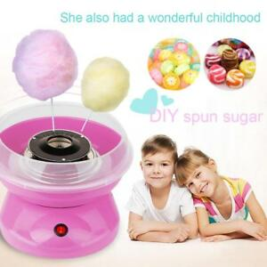 Electric Diy Sweet Cotton Candy Maker Food Processor Crystal Sugar Floss Machine