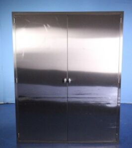 Stainless Steel Medical Cabinet With Pegboard For Hanging Endoscopes Or Other