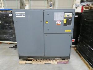 Atlas Copco Ga30 40 Hp Rotary Screw Air Compressor 460 Volt 3 Phase