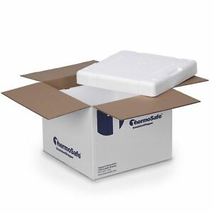 Thermosafe 326 Cold Insulated Shipping Box Container Kit 6 Pack New