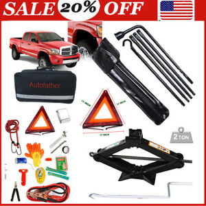 Repair Tire Lug Wrench Tools Kit roadside Assistance Emergency Kit For Ram 1500