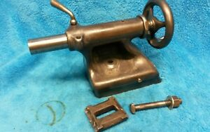 Original South Bend 9 Lathe Tailstock W Clamp Complete Assembly