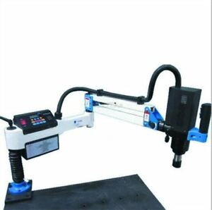 M6 M24 Electric Tapping Drilling Machine 1200mm Vertical Type Rq
