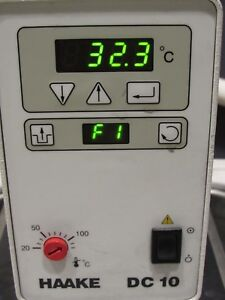 Haake Dc 10 Water Bath Heater Immersion Recirculator Power Tested