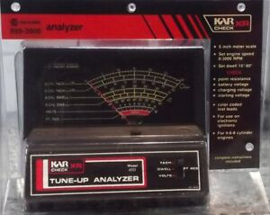 Napa Kar Check Xr Tune Up Analyzer Model 899 3000 Dwell Tach Volts