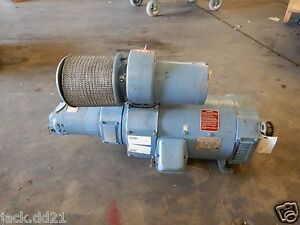 Emerson Northwestern Electric Dc Direct Current Motor Generator 25 Hp Blower