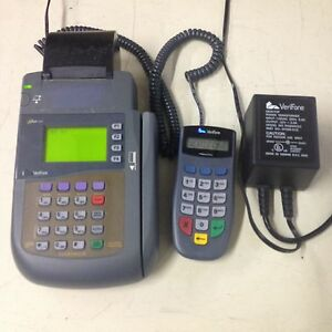 Verifone Omni 3200 Credit Card Terminal And Printer Pinpad 1000se Softpay