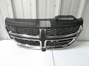 2011 2012 2013 2014 2015 2016 2017 Dodge Journey Oem Black Chrome Grille