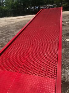Yard Ramp Yard Dock Trailer Loading Dock Forklift Ramp 82 5 Wide 75 Usable