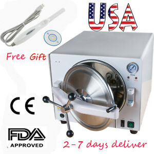 Profession Medical Dental Autoclave Steam Sterilizer Equipment intraoral Camera