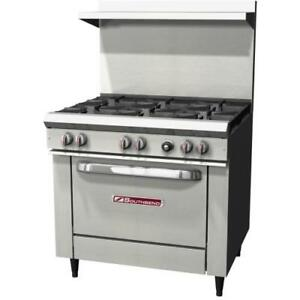 Southbend S36d 36 Commercial Restaurant Range Oven Stove