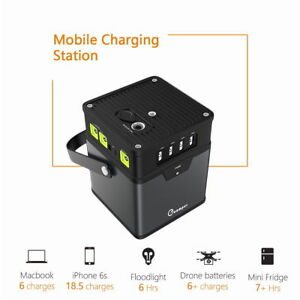 Portable 185wh 50000mah Energy Storage Generator Power Source Battery Ac Outlet