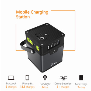 Portable 370wh 100000mah Energy Storage Generator Power Source Battery Ac Outlet