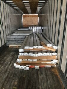 Pallet Racks 108 Total Bays Used Very Good Condition