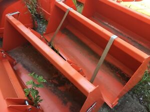 B1626 Kubota 60 Light Duty Pin On Bucket For La434 La534a Loaders