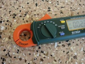 Extech 380947 True Rms 400a Ac dc Mini Clamp On Meter new Open Box
