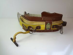 Miller Lineman Safety Body Belt With Two Side D rings Style 8466