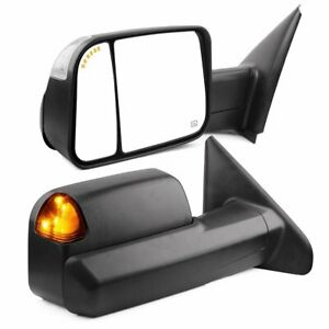 For 02 08 Dodge Ram 1500 03 09 2500 3500 Towing Mirrors Power Heated Signal Pair