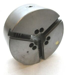 Bison 10 Three jaw Lathe Chuck W A1 6 Mount