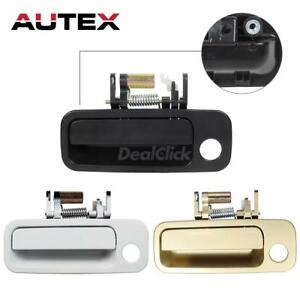 79426 Exterior Door Handle Front Left Black Gold White For 97 2001 Toyota Camry