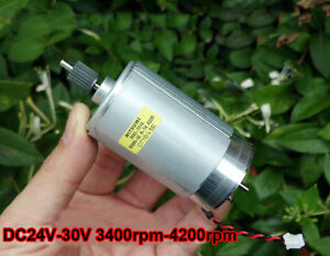 For Mitsumi M36n 5e 575 Dc30v 4200rpm Large Torque Motor Wind Turbine Generator