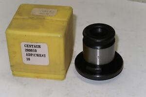 New Centaur Precision Tools Cwe 2 0 10 Quick Change Positive Drive Tap Adapter