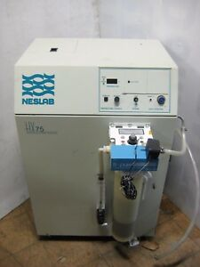 Neslab Hx 75 Air Cooled Refrigerated Recirculating Chiller Thermo Scientific