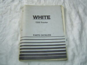 1974 White Cockshutt Oliver 1255 Tractor Parts Catalog Book Manual